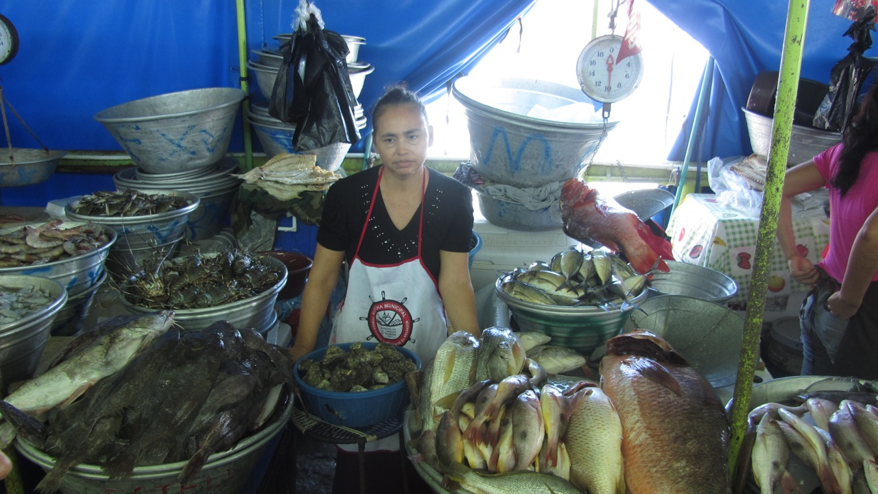 Fish market for La fish market